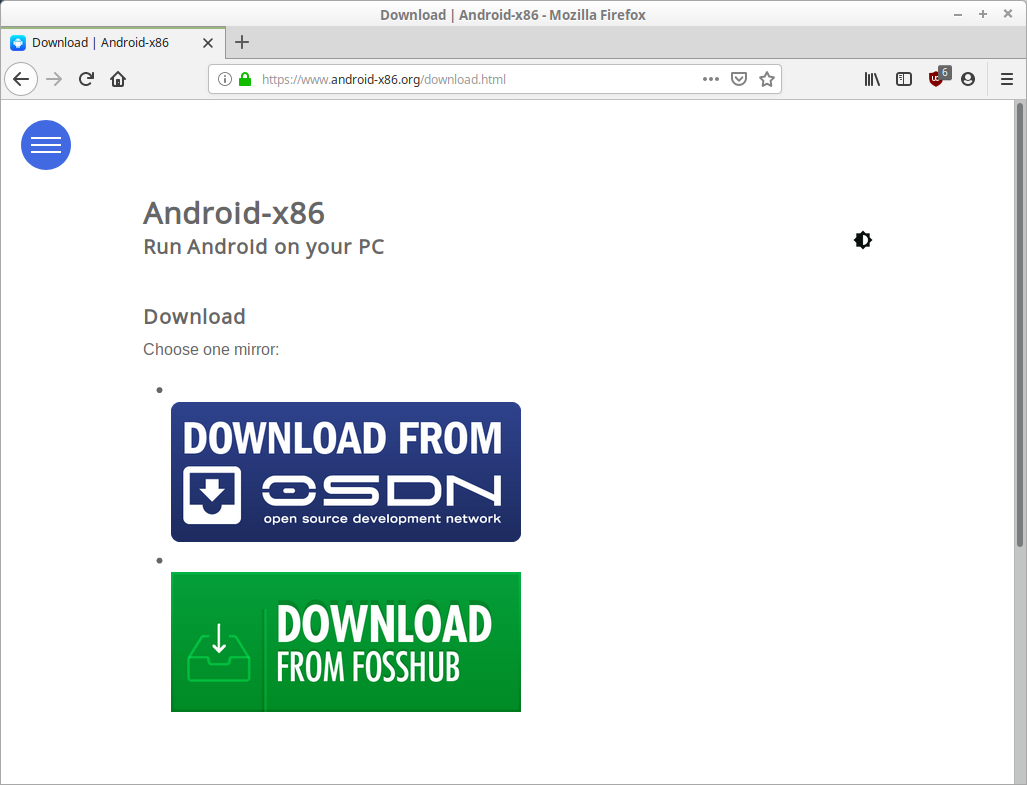 Android x86 Download