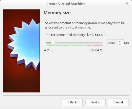 Virtual Machine configuration