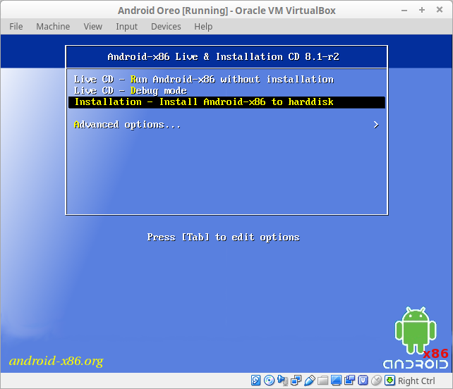 How to Install Android in VirtualBox - r00t4bl3 com