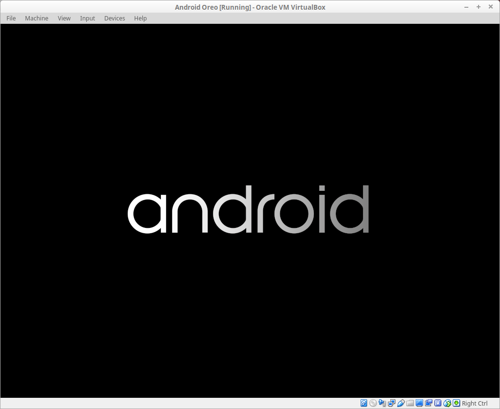 Android first boot