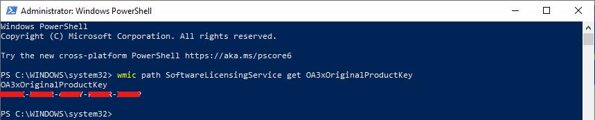 Windows 10 Serial Number