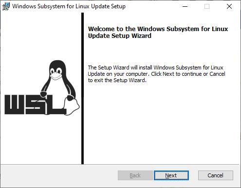 WSL 2 Installation