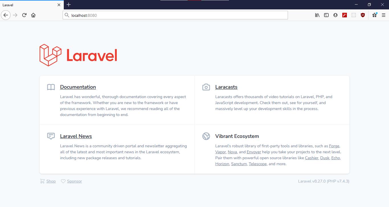 Laravel Application