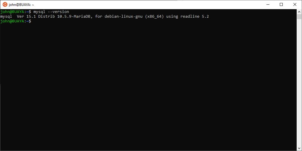 MariaDB Version