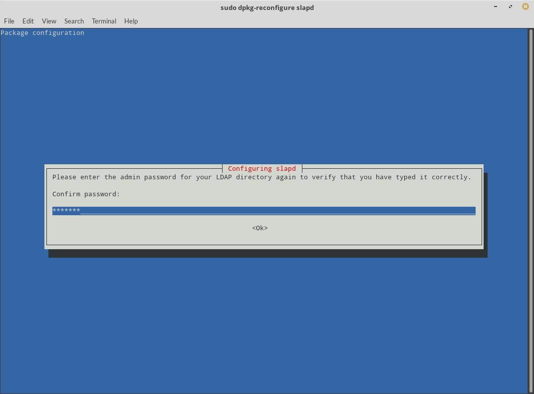OpenLDAP Server Configuration