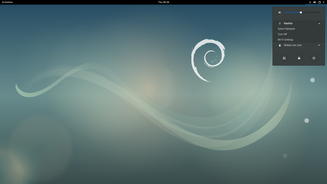 Debian Screenshot