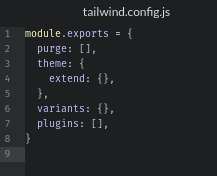 tailwind.config.js File